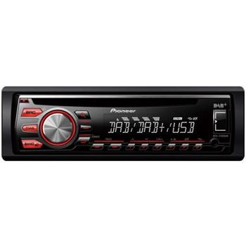 Player auto Pioneer DEH-4700DAB, Roșu