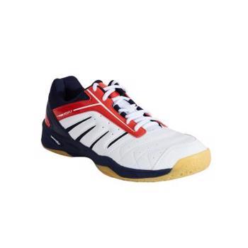 Încălțăminte Badminton BS 560 Lite Alb/Roșu PERFLY