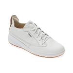 Pantofi sport GEOX albi, D02HNA, din piele naturala