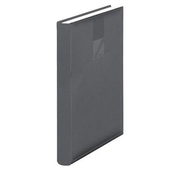 Agenda A5 nedatata,224p,metalizata,gri inch