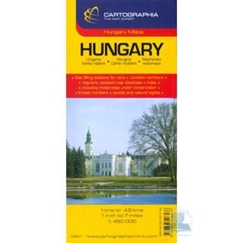 Ungaria - Hungary - Harta Rutiera