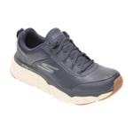 Pantofi sport SKECHERS bleumarin, MAX CUSHIONING ELITE LUCID, din piele naturala