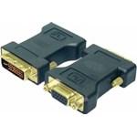 Adaptor LogiLink AD0001 DVI-I Male la VGA DSUB Female Negru ad0001