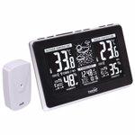 Statie meteo, Home, emitator extern, afisaj LCD, ceas calendar, interior/exterior