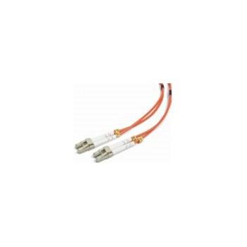Cablu Fibra Optica Multimodal Gembird LC-LC Duplex 50/125 2m Portocaliu cfo-lclc-om2-2m