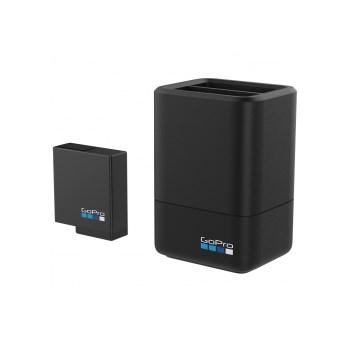 GoPro - Incarcator Dual + Acumulator pentru Hero5/6/7 Black&Hero(2018)