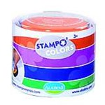 Set creativ Stampo Colors, 4 tusiere - Carnaval