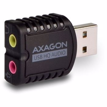 Placa de sunet AXAGON USB2.0 Stereo Mini Adapter 24bit 96kHz ada-17