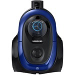 Aspirator fara sac Samsung VC07M2110SB, 1.5 l, 700 W, Tub telescopic, Anti-tangle Cyclone, Albastru