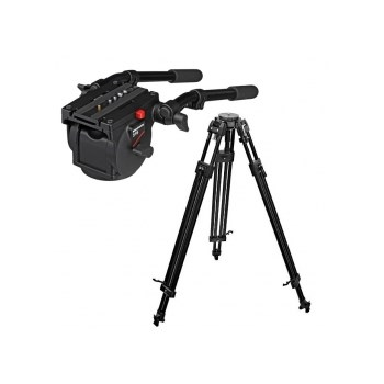 Manfrotto trepied video 350MVB + cap 516