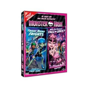 Monster High. De ce se indragostesc vampirii? & Spaimele de vineri seara