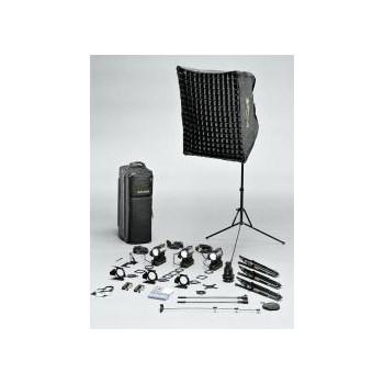 Dedolight S3S Hustler - kit de iluminare cu instalare rapida