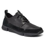Sneakers CLARKS - Tri Solar 261463197 Black Leather