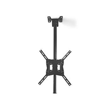 Suport TV cu fixare pe tavan 26 - 42/66 - 107 cm 20 kg ajustabil Nedis VE-TVCM1330BK