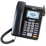 Telefon fix Maxcom MM28DHS cu SIM Negru mm28dhs