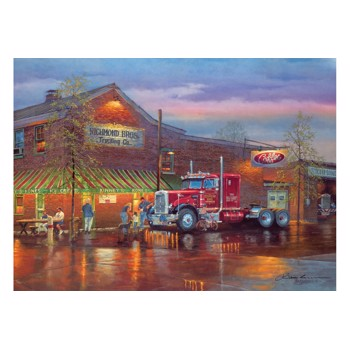 Puzzle Cobble Hill - Big Red, 1.000 piese (Cobble-Hill-80188)