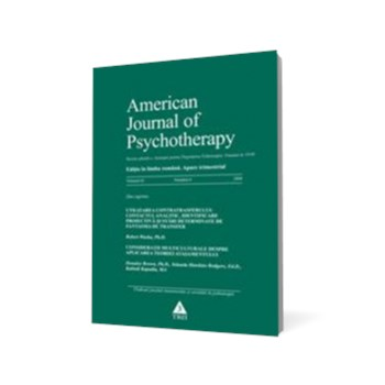 American Journal of Psychotherapy nr. 4