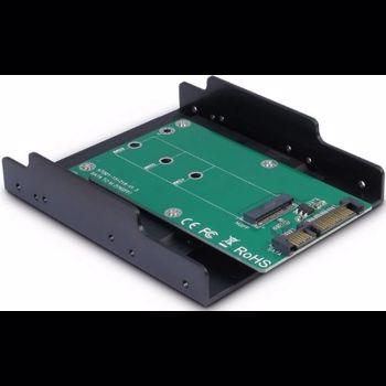 Adaptor Inter Tech Argus KT001B 1x SATA Male - 1x M.2 SATA SSD kt001b