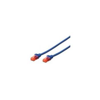 Cablu UTP Digitus Premium Patchcord Cat 6 1m Albastru