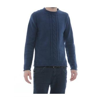 Pulover albastru pentru barbati