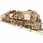 V-Express Steam Train with Tender. Tren V-Express cu abur