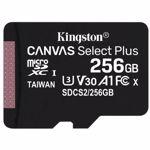 Card memorie Kingston Canvas Select Plus SDCS2/256GBSP (256GB; Class 10, Class A1; Memory card)