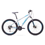 "Bicicleta de munte Romet RAMBLER 27.5 2 Gri-Albastru 17"""