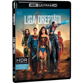 Liga dreptatii (Blu Ray Disc) Steelbook / Justice League