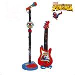 Set chitara si microfon Spiderman