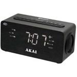 Radio cu ceas Akai ACR-2993, FM radio, dual alarm si functie incarcare telefon