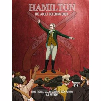 Hamilton: The Adult Coloring Book, Paperback