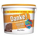 Tencuiala decorativa Danke Textur, aspect structurat, ciocolatiu, interior/exterior, 25 kg
