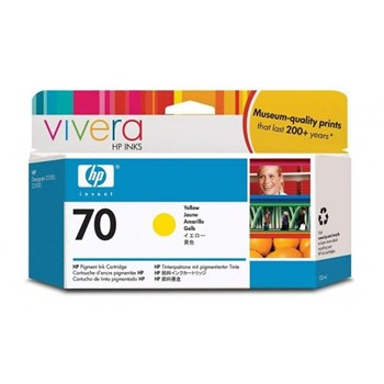 HP C9454A INK 70 CARTRIDGE Yellow 130ml C9454A