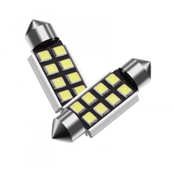 Set becuri LED C5W - sofit, 6 SMD, 3030, CAN-BUS, fara polaritate, 36mm