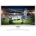 Televizor Monitor LED 61cm LG 24TK410V-PZ HD Alb