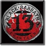 Magnet - Black Sabbath 13 circle steel