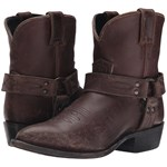 Frye Billy Harness Short Culoarea Espresso Smooth Stone Wash