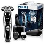 Philips Aparat de ras S9711/31, acumulator, 1 accesoriu, 3 capete, autocuratare, trimmer, negru
