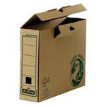 Cutie arhivare Fellowes R-Kive reciclat, 80mm kraft