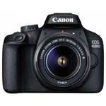Aparat Foto DSLR Canon 4000D 18MP CMOS FullHD Kit cu Obiectiv EF-S 18-55 F-3.5-5.6 III Negru 3011C018AA