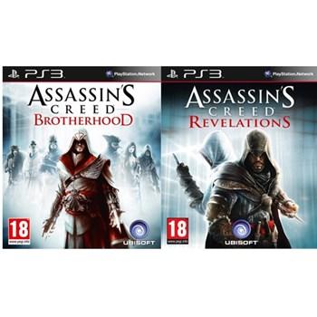 Joc Pachet Assassin's Creed: Revelations + Assassin's Creed: Brotherhood pentru PlayStation 3
