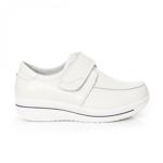 Pantofi Piele Alassy albi 19 -rl