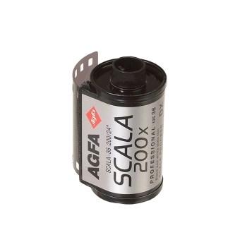 Agfa Scala 200X - film diapozitiv alb-negru ingust (ISO200, 135-36)