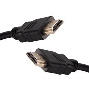 Cablu HDMI v2.0 ARC High Speed UHD 4K@60Hz placat cu aur de 10m negru