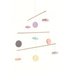 Carusel pentru patutul bebelusului model pastel