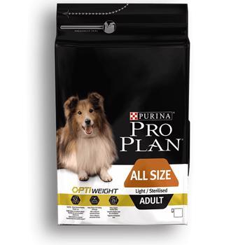 Pro Plan Adult Light / Sterilised, 3 kg