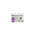 Milprazon Pisica 16 / 40 mg (2 - 8 kg),2 comprimate