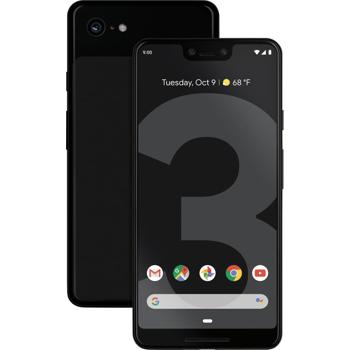Smartphone Google Pixel 3 XL, Octa Core, 128GB, 4GB RAM, Single SIM, 4G, 3-Camere, Black