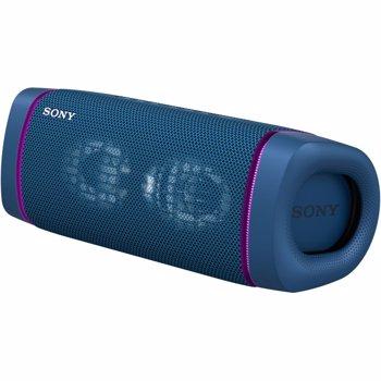 Boxa portabila Sony SRS-XB33, Extra Bass, Bluetooth, NFC, Albastru