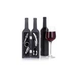Set accesorii pentru vin, in forma de sticla (9 voturi ) 5 stele (9 voturi) 100% Complet